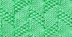 Diagonal Moss Stripe is a great textured pattern with only knit and purl stitches. Perfect for cozy blankets! Loom Knitting, Knitting Patterns Free, Knit Patterns, Textures Patterns, Stitch Patterns, Free Pattern, Knit Purl Stitches, Moss Stitch, Knit In The Round