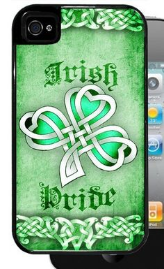 Green Irish Pride with Celtic Clover - Black iPhone 4, 4s Dual Protective Case by Inked Cases, http://www.amazon.com/dp/B00FAGHLJC/ref=cm_sw_r_pi_dp_Q7lvsb1PFYQWK