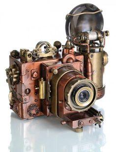 steampunk camera, By Valery Alexandrovitch