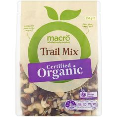 4.33 stars, 448 reviews for Macro Organic Trail Mix 250g on Bunch.