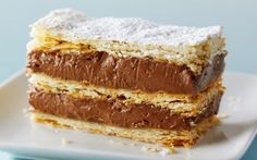 Chocolate Hazelnut Napoleon Recipe by Anna Olson