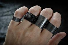 ASPER & FLUX rings by Elemental Luxury