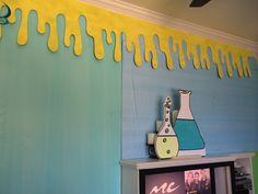Magalie Sarnataro props Mad Science birthday party decor Mad Science, Birthday Party Decorations, Home Decor, Decoration Home, Room Decor, Home Interior Design, Home Decoration, Birthday Decorations, Interior Design