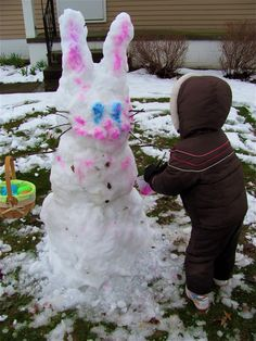 The Chocolate Muffin Tree: An Easter Snow Bunny