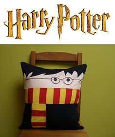 """Snuggle up to your favorite wizard with Harry Potter pillows from Deviant Art crafter """"wdkimmy."""" All the cuddliness of a Hogwarts student without the impending threat of Lord Voldemort. Via Deviant Art. All sorts of Harry Potter news and views. Harry Potter Pillow, Cute Harry Potter, Harry Potter Games, Harry Potter Hermione, Harry Potter Characters, Draco Malfoy, Lily Potter, Ginny Weasley, Iconic Characters"""