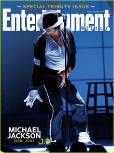 Michael Jackson: Entertainment Weekly Tribute Cover.