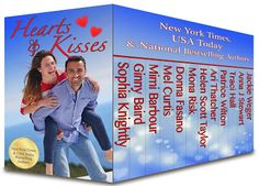"""12 sizzling, super interesting and """"happily-ever-after"""" Romances in 1 boxset..Read my #BookReview of """"Hearts & Kisses"""", Enter the #Giveaway to win $20 Amazon GC and grab this #NewRelease boxset at just 99c/Rs. 60! :) http://www.njkinnysblog.com/2015/02/release-day-blitz-arc-book-review-and.html Buy From: Amazon US: http://amzn.to/1CdualK {99c} Amazon IN: http://bit.ly/1E2BbFR {Rs. 60} #Romance #Boxset #ARCBookReview #Recommended #Sale #ReleaseDayBlitz #EbookDeal"""