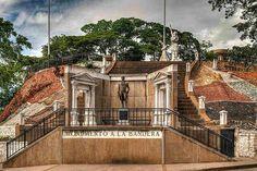 Miranda, monumento de la Bandera. San Juan de Los Morros, Guarico.