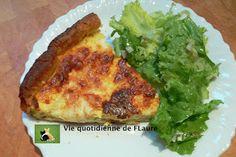 Tarte au râpé de surimi et mozzarella, Vie quotidienne de FLaure