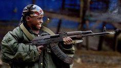 Artikel over Kindersoldaten.  Het is verschrikkelijk dat kinderen moeten vechten, en andere mensen moeten vermoorden en geen ouders hebben.