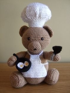 Chef Bear, via Flickr.