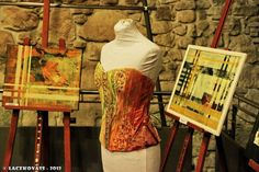 "Ledenjak - The Art. The Work. The Corset. ""Wall Flowers"""