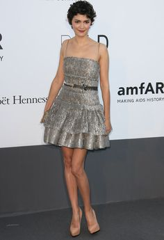 Audrey Tautou..and this dress!