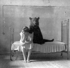 """This is from a list of photos called """"Historic WTF"""" --- So bizarre and fascinating."""
