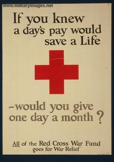#redcross #wartime #poster