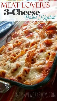 meat-lovers-3cheese-baked-rigatoni