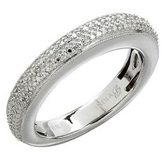 Don't miss out on this fabulously designed and fantastically priced sterling silver diamond ring from Glenn Bradford.