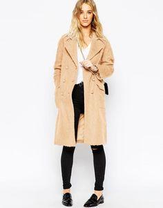 ASOS | ASOS Coat In Cocoon Fit at ASOS