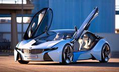 BMW Vision Efficient Dynamics Super Car, 2013. | #MostBeautifulPages