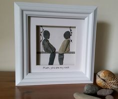 #PebbleArt Unique Mother's Day gifts from Cornish Pebble Art https://www.facebook.com/cornwallpebbleart/