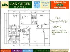 Oak creek homes model 2302