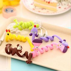 Cheap cable f, Buy Quality cable hub directly from China cable receiver Suppliers: 1 pcs Lovely fashion strip animal bobbin winder ear mechanism storage line hub multi-function Cables to receive clip Bag clip