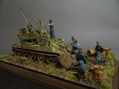 Dioramas and Vignettes: Armored recovery vehicle, photo #7