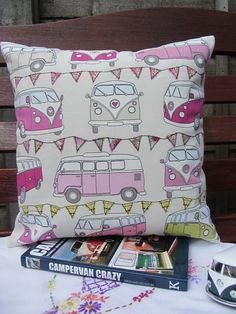Cushion cover, campervans £14.50