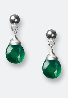 d1e6391aa7df0 Emerald ideas for your wedding Emerald Green Earrings