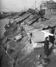 Poor Shanghai sections.  棚户区。