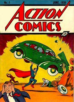 Les débuts de Superman de Jerry Siegel et Joe Shuster - Juin 1938…
