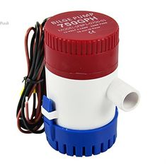 New 12V SUBMERSIBLE BOAT/MARINE BILGE WATER PUMP 750GPH / 2850LPH