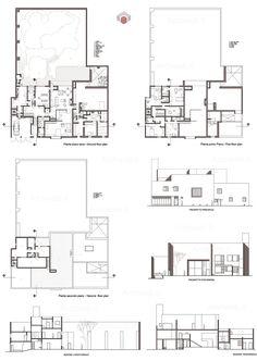 barragan house plan  Google Search  Casa Cohen  Luis barragan Architecture Architecture plan