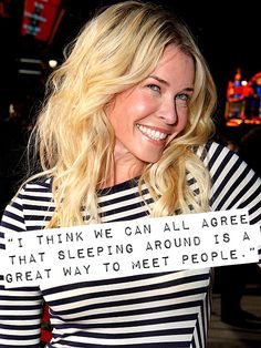 Chelsea Handler sex quote