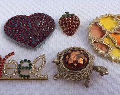 Vintage Pin Lot of 5