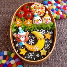 いいね!1,959件、コメント1件 ― しあんさん(@kinakobun)のInstagramアカウント: 「今日の旦那さん弁当。 * 私はとっても寝付きが良いです 例えお昼寝したとしても夜はバッチリ眠れるし、お布団入れば5分ともちません(笑) 昔みたいに完徹とかもう無理なんだろうな〜 * *…」 Amazing Food Art, Japanese Food Art, Cute Baking, Kawaii Bento, Taiwan Food, Sushi Art, Valentines Day Food, Food Themes, Kid Friendly Meals