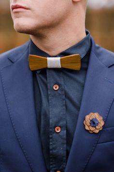 Een houten bow tie? Die hebben we niet eerder gespot!