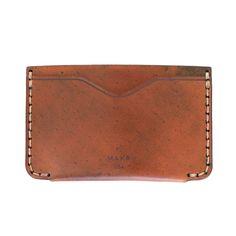 MAKR - Cordovan Horizon Two Wallet - Made in USA
