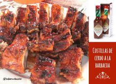 Costillas de cerdo a la barbacoa con salsa picante http://blgs.co/SOnHAA