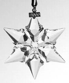 e2088fd30795 Swavorski 2000 Snowflake Ornament Crystal Snowflakes