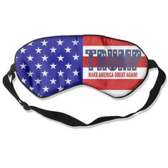 GIGIFashion Trump Make America Great Again Sleep Mask/Sleeping Mask/Eyeshade/Blindfold ** Click image for more details.