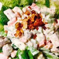 """Sweet & Creamy Beyond """"Chicken"""" Salad"""
