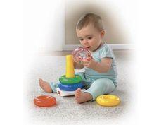 Juguetes clásicos para bebés: ¡los encajables de Fisher Price!