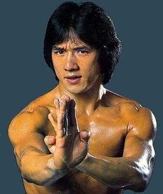 Jackie Chan for all the times he cheered me up and made me smile.I never get tired of his movies