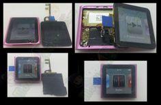 Reparación lcd completo IPOD NANO 6th