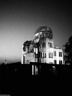 原爆ドーム Atomic Bomb Dome Famous Buildings, Famous Landmarks, Nagasaki, Hiroshima, Willis Tower, Monuments, Empire State Building, World War, Wwii