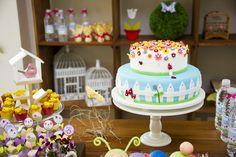 Já tinha visto uma festa mais linda do que essa? Ainda não! Deste tema Jardim Encantado não! Gente, tudo é muito fofo e perfeito!! To louca...