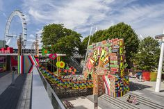 the temple of agape was commissioned by the southbank centre for their summer 'festival of love' and will be open until the 31st august 2014.