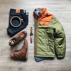 50 Awesome Streetwear Outfits Grids Ideas for Men - Smart Casual Outfit, Casual Outfits, Men Casual, Mens Boots Fashion, Mens Outdoor Fashion, Winter Outfits Men, Outdoor Apparel, Outfit Grid, Men Style Tips