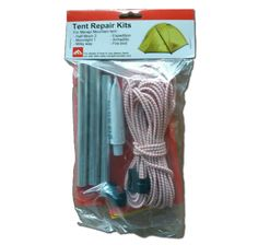 Tent repair kits
